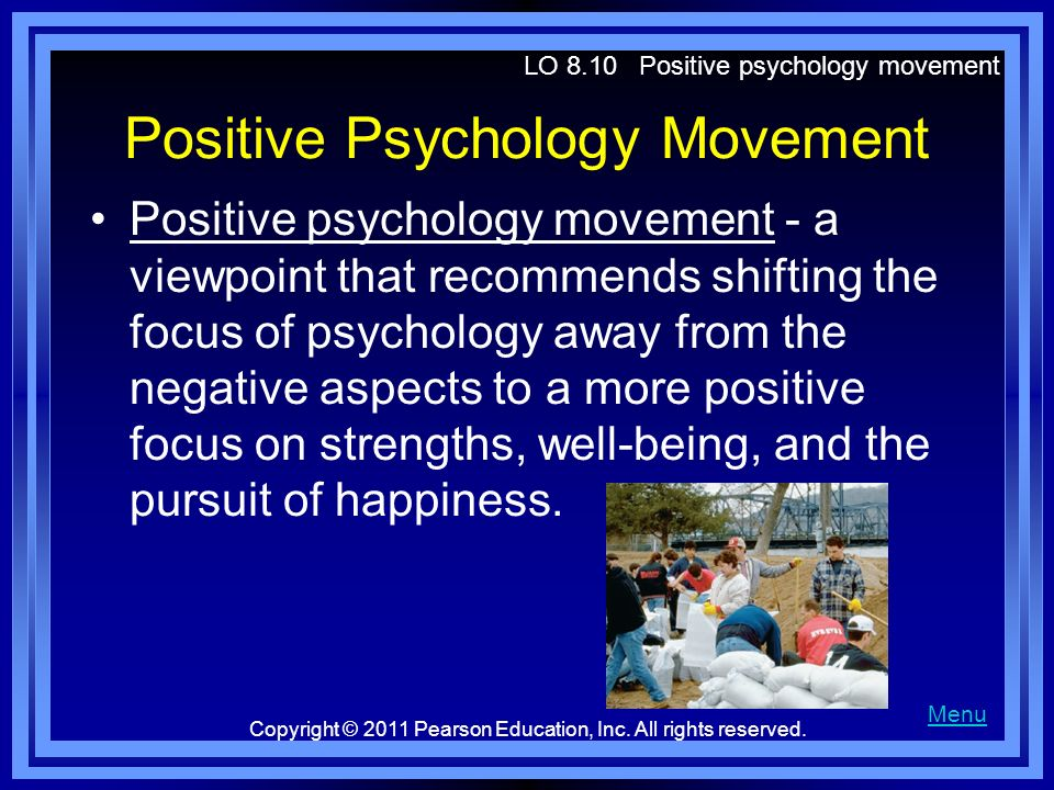 Positive Psychology Movement
