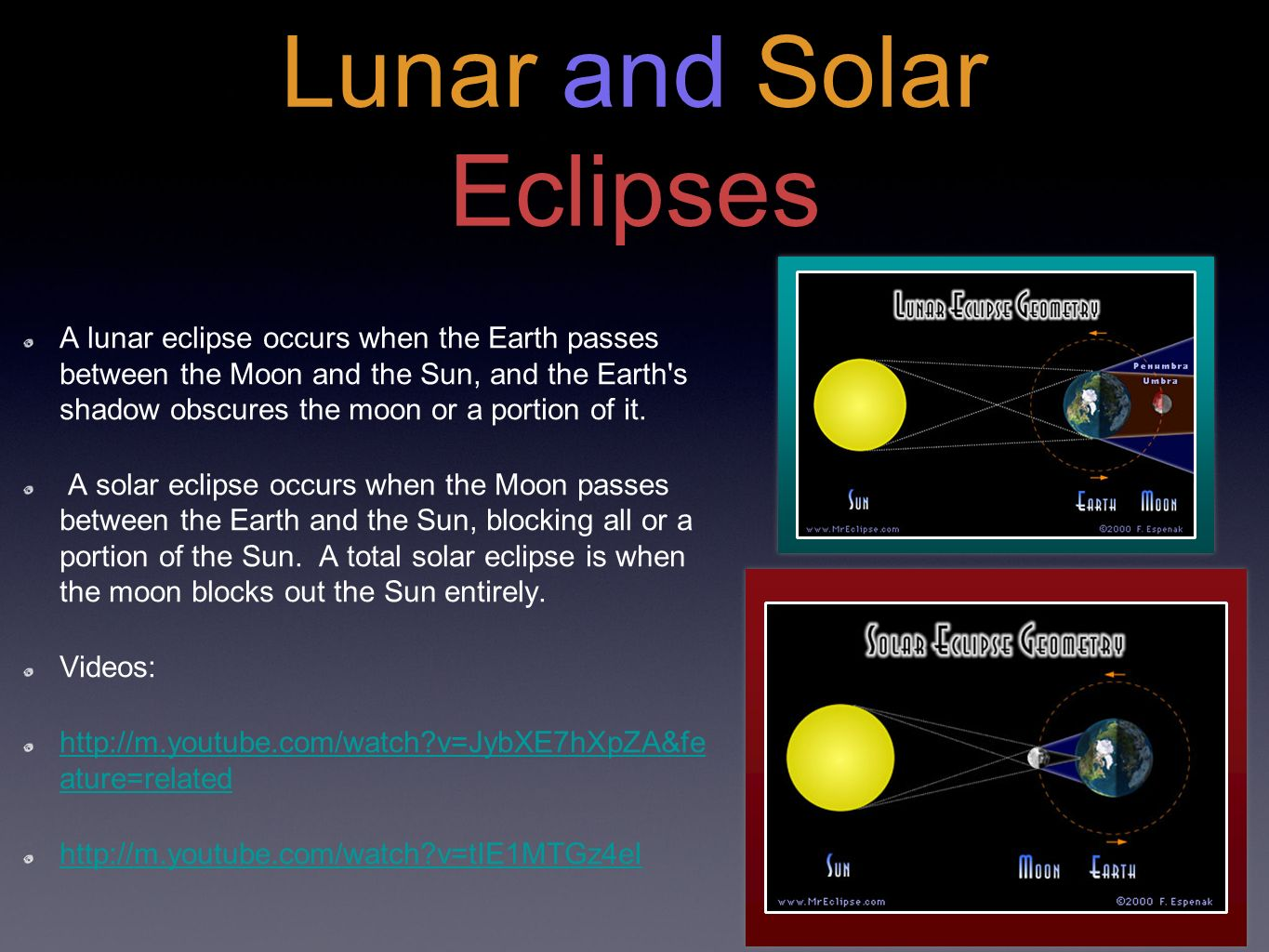 Earth Moon And Sun Interactions Ppt Video Online Download