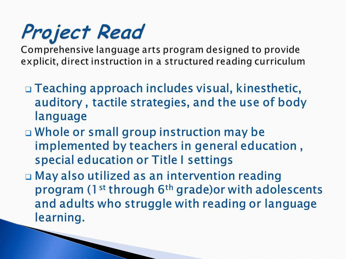 do language arts intervention programs increase Elementary intervention program beliefs student service is the priority, and decisions will be made based on student assessment data the classroom teacher is ultimately responsible for student learning, with support from intervention staff, title i, ell, special education, and challenge colleagues.