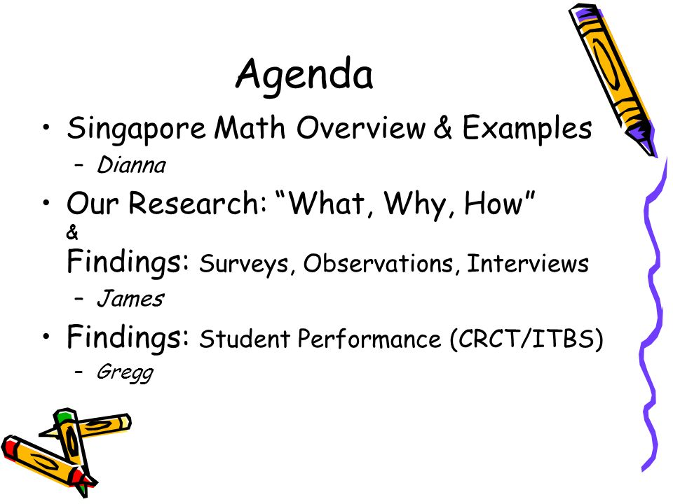 Implementing Singapore Math In Elementary Schools Ppt Video Online