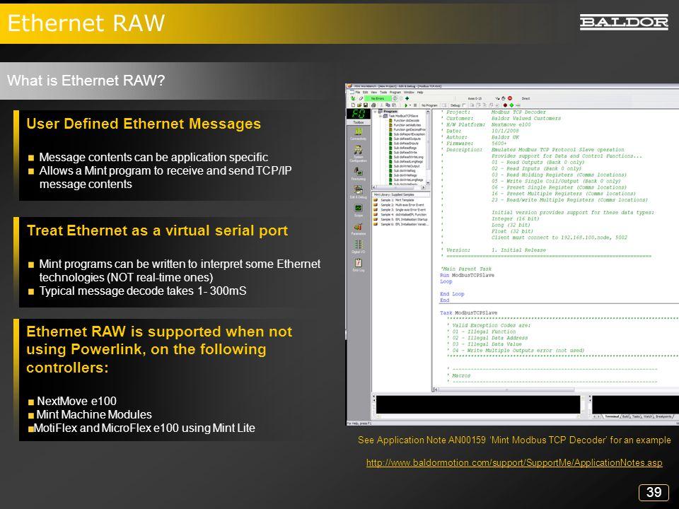 Mint™Lite Programmable Ethernet Drives - ppt download