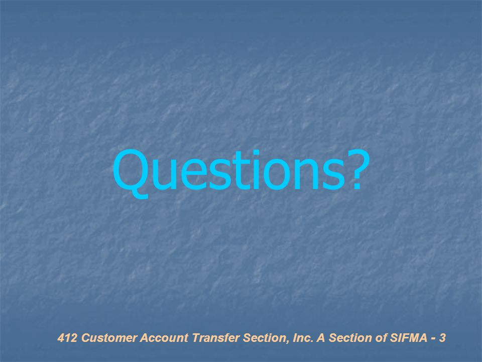 Joseph Zaets – Morgan Stanley President - SIFMA CAT Section - ppt