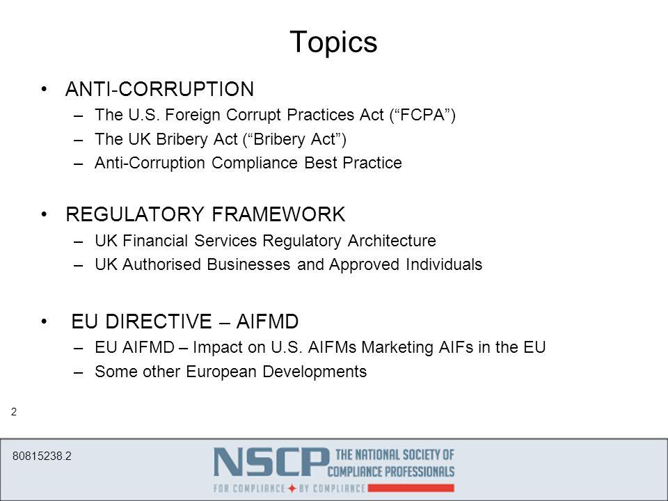 International Compliance October 21 2014 Washington Dc