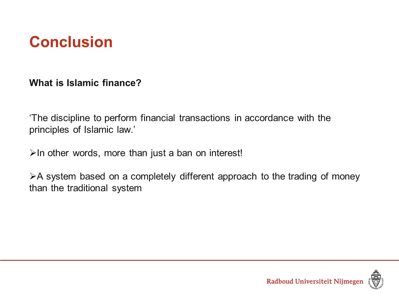 Islamic Finance Principles And Practice Ppt Download