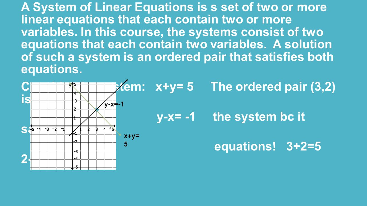 Chapter 5 Systems of Equations and Inequalities - ppt video online ...