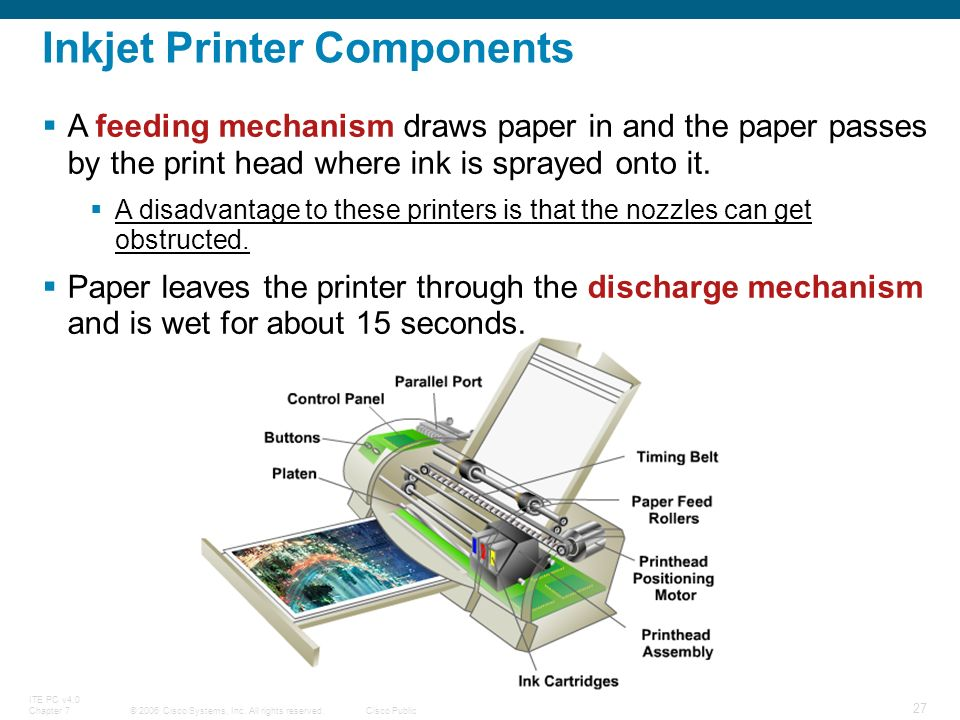 Chapter 7: Printers and Scanners