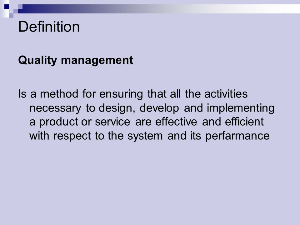 Quality Management Slovak University Of Technology Ppt