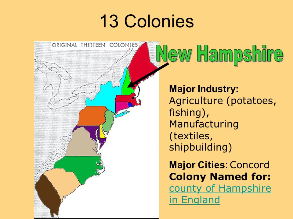 The Thirteen Colonies The Thirteen Colonies Write On ...