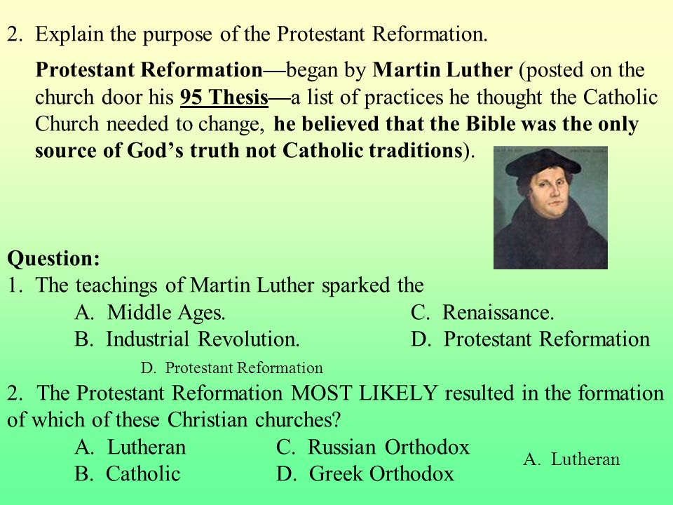 thematic essay protestant reformation The protestant reformation and european expansion have both left political, social and economic impacts throughout history the protestant reformation which was started in the 1500's, by a catholic man named martin luther caused political instability and fragmented the holy roman empire.
