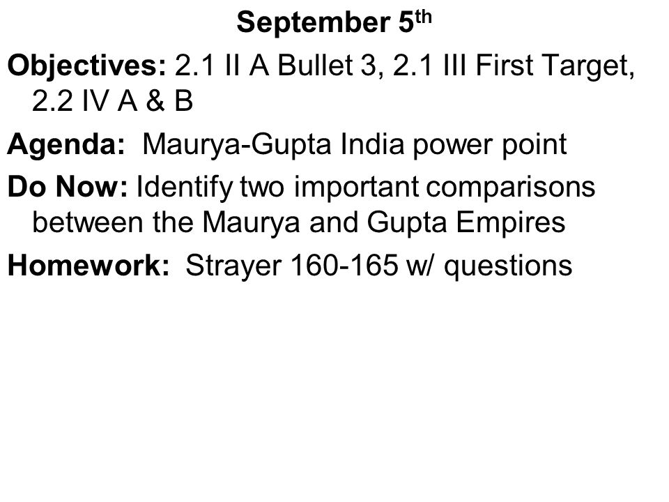 August 7th Objectives: Materials distribution, Intro to AP Agenda