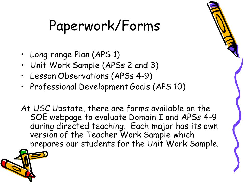 For Faculty, Supervisors and Cooperating Teachers - ppt