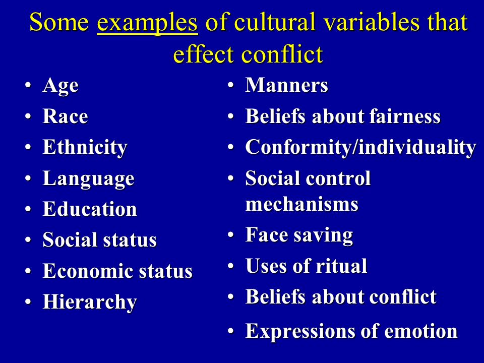 Culture And The Management Of Conflict Ppt Video Online Download