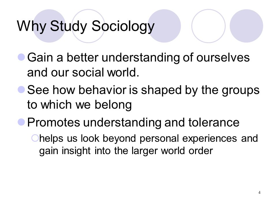 sociology subjects