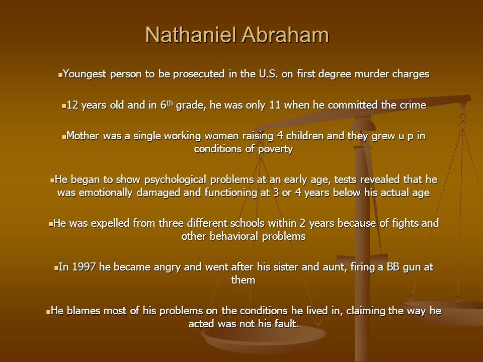 nathaniel abraham murder