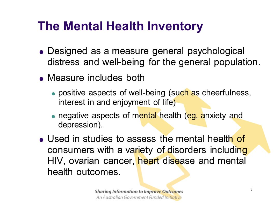 The Mental Health Inventory