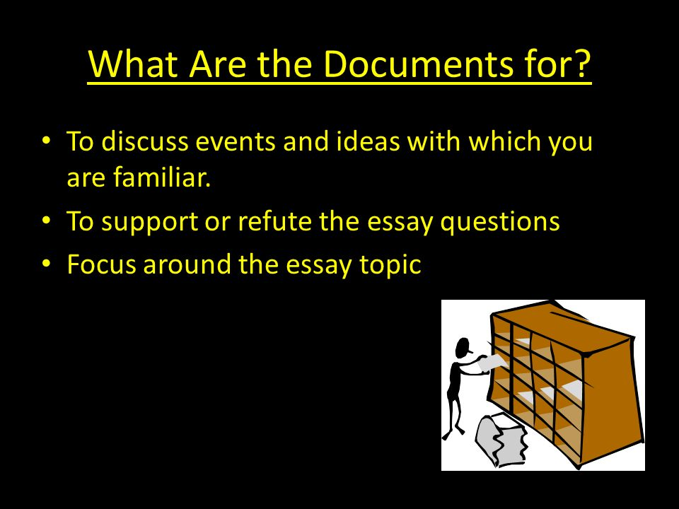 What Are the Documents for