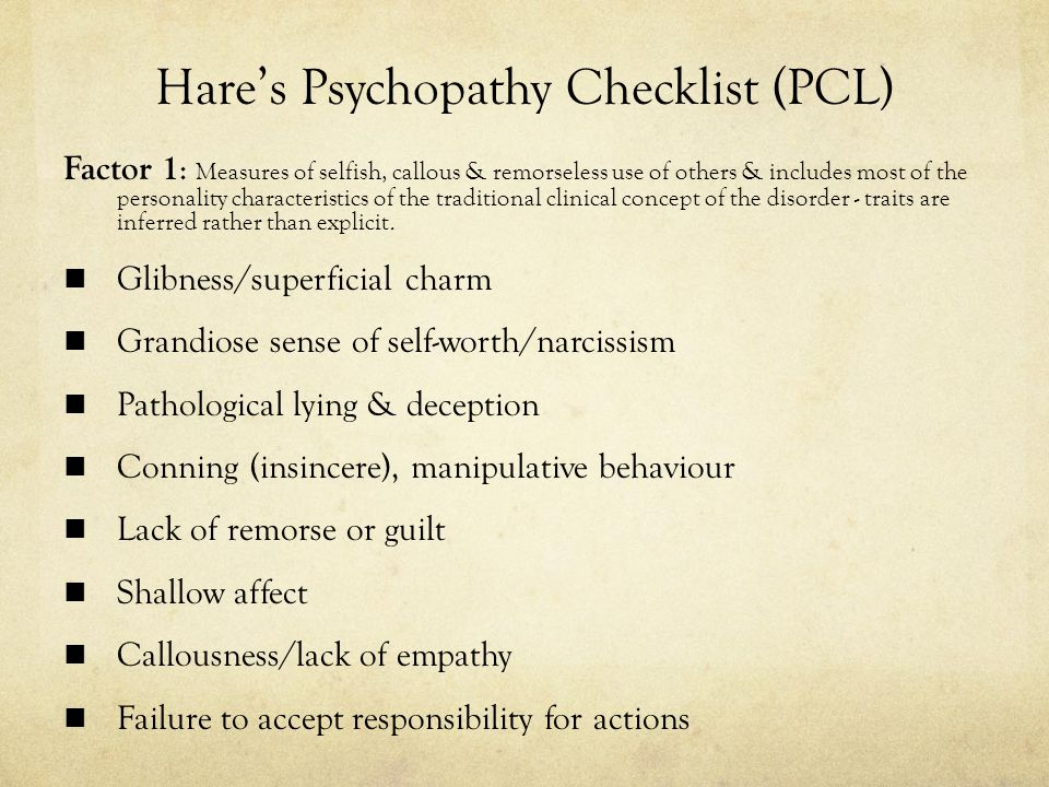 pathological liar traits