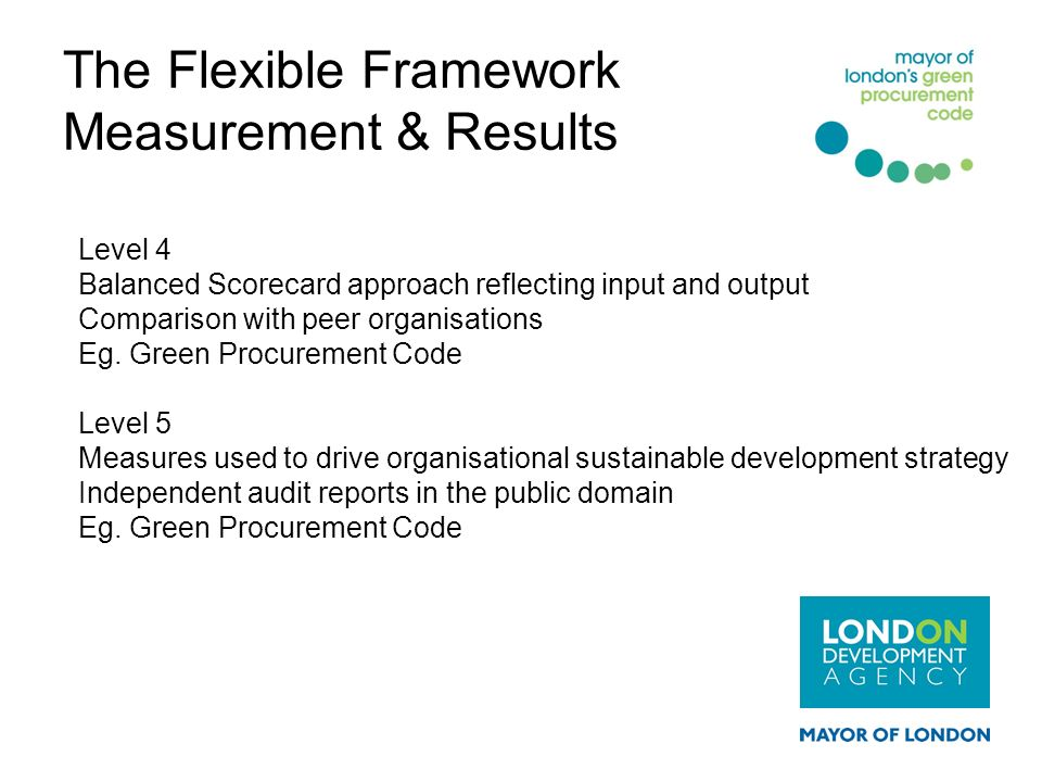 The Flexible Framework Measurement & Results