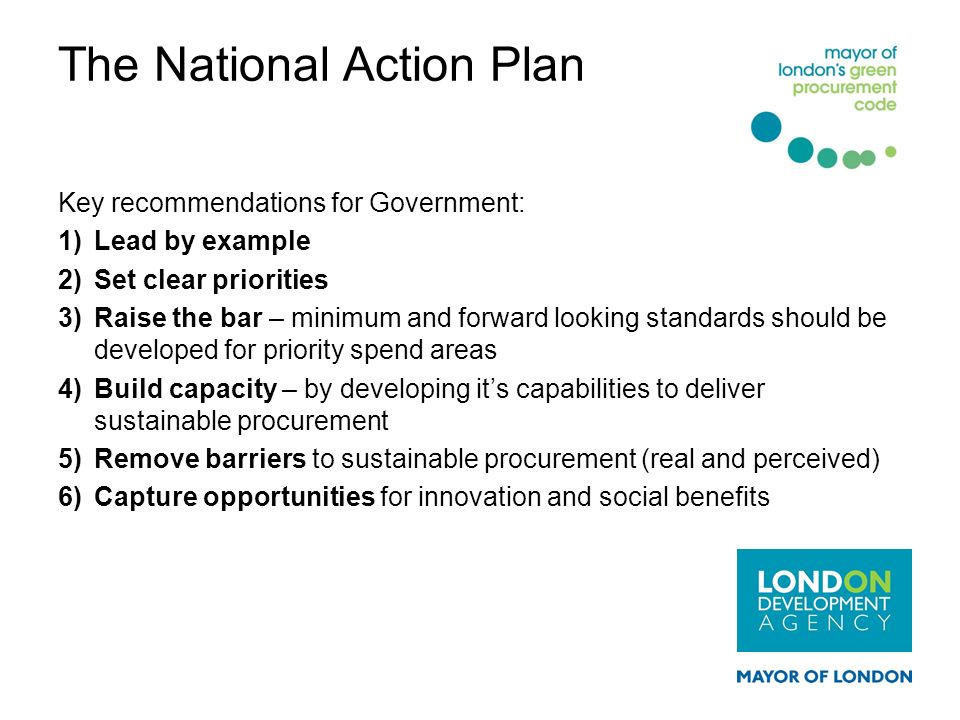 The National Action Plan