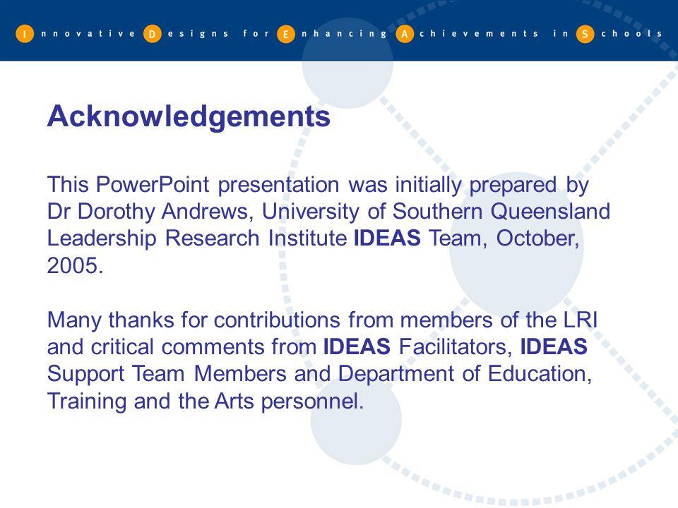 LEADERSHIP research institute