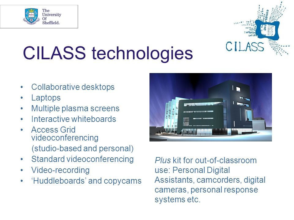 CILASS technologies Collaborative desktops Laptops