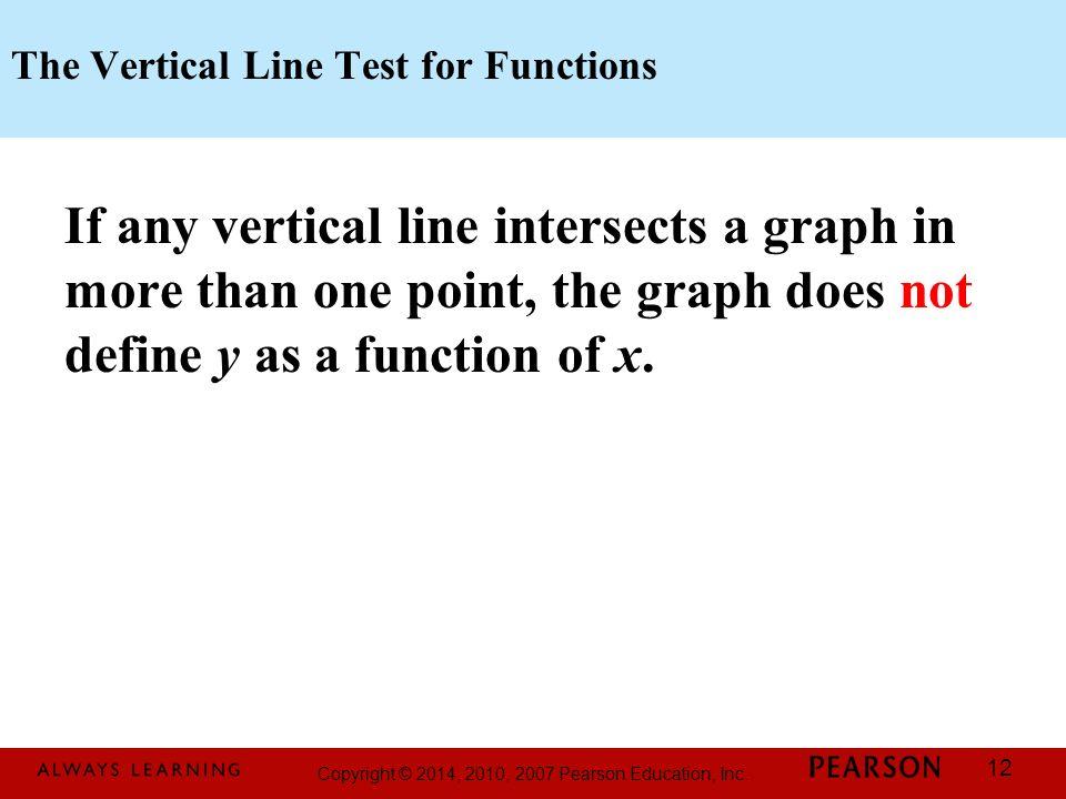 Printable Worksheets vertical line test worksheets : Copyright © 2014, 2010, 2007 Pearson Education, Inc. - ppt download
