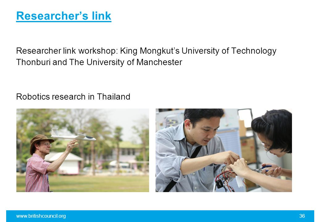 Researcher's link