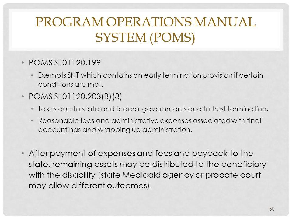 by patricia e kefalas dudek ppt download rh slideplayer com program operations manual system (poms) social security program operations manual system (poms)