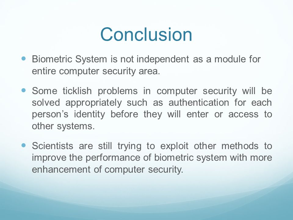 Introduction to Biometric Systems - ppt video online download