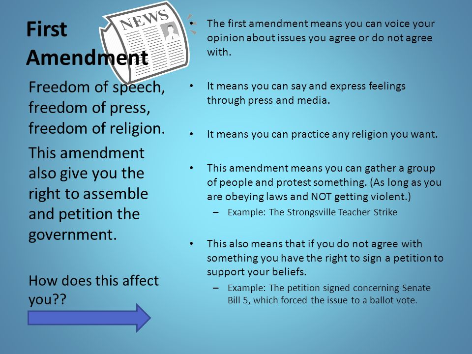 Bill of Rights Vocabulary - ppt download