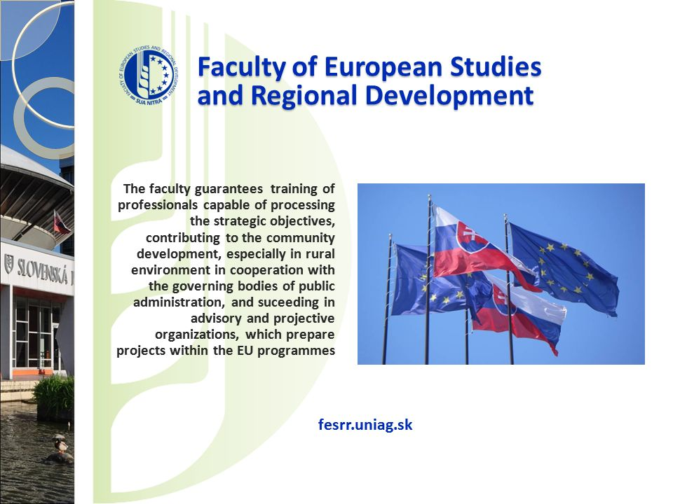 Faculty of European Studies and Regional Development