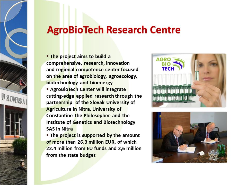 AgroBioTech Research Centre