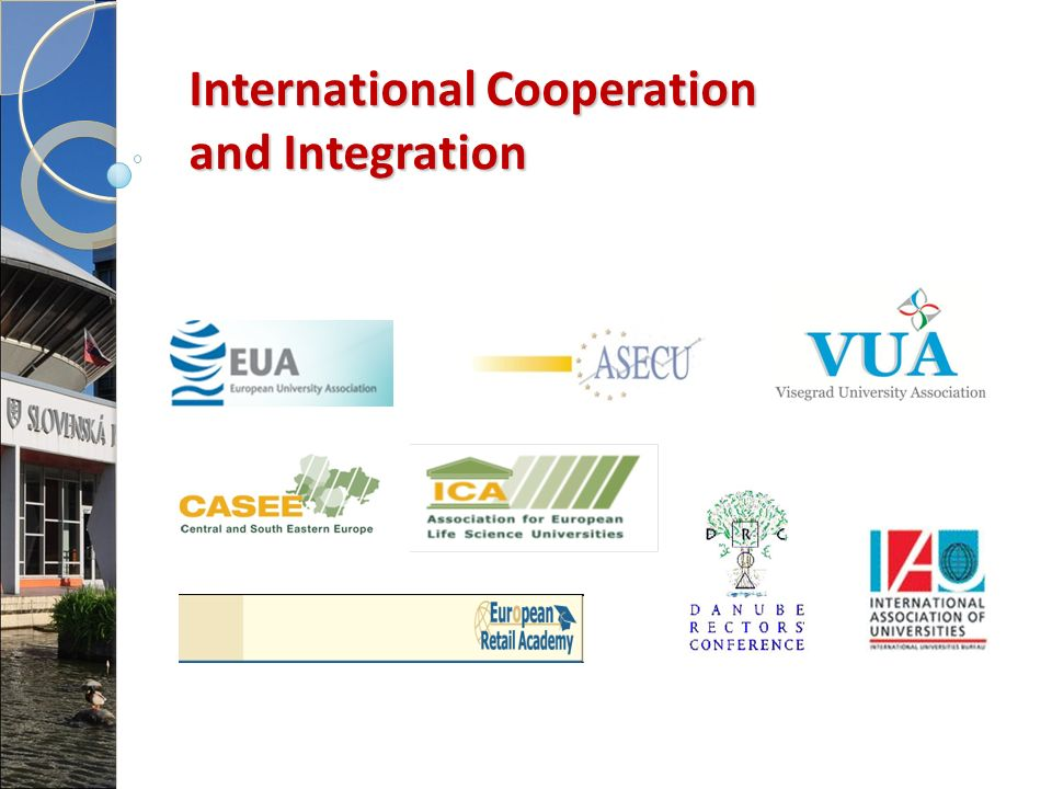 International Cooperation and Integration