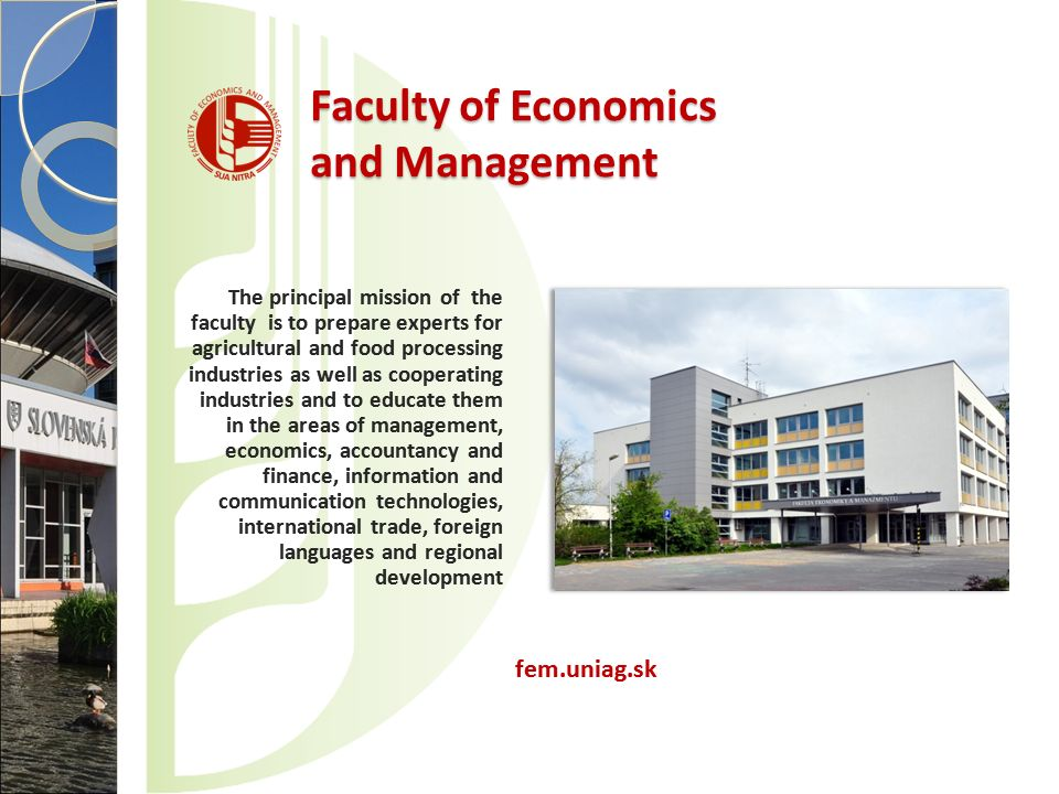 Faculty of Economics and Management