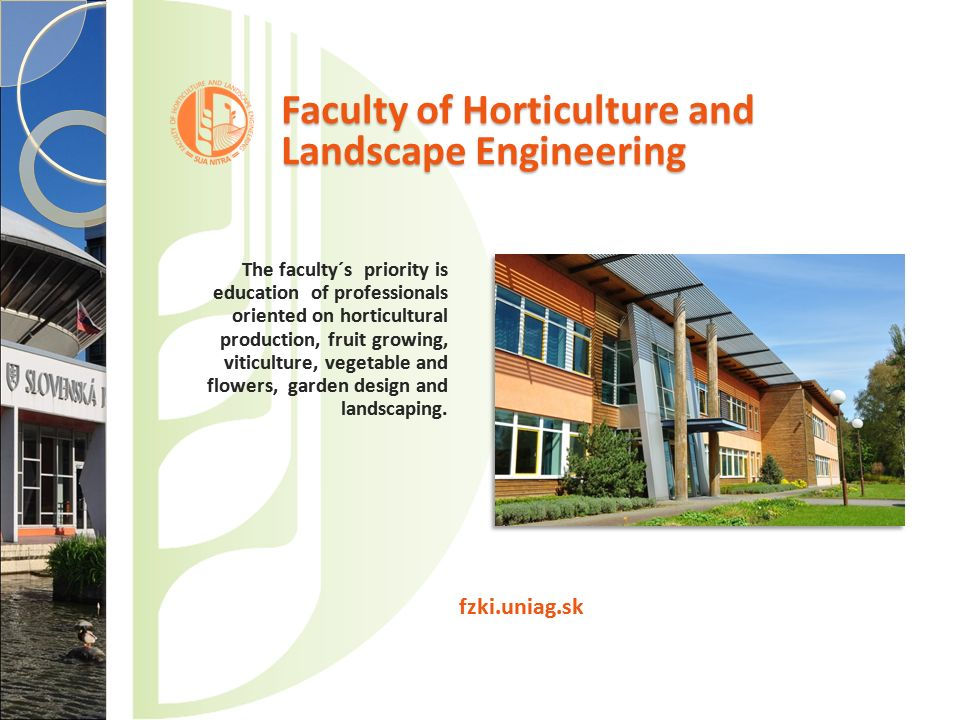 Faculty of Horticulture and Landscape Engineering