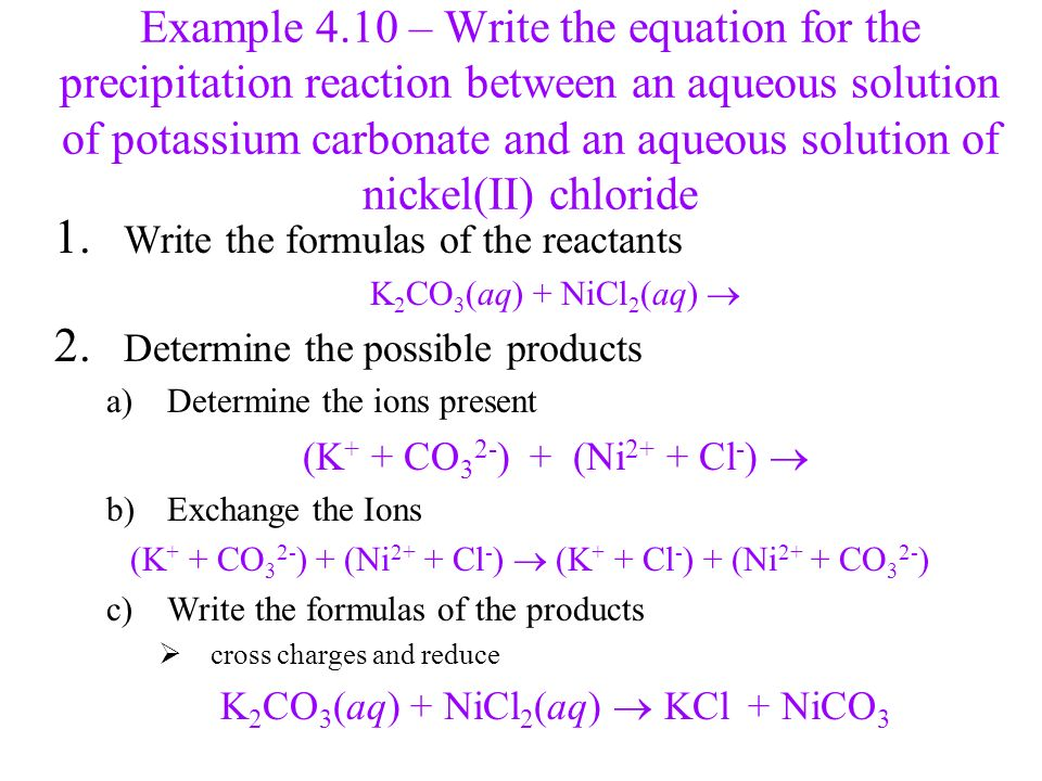 Chapter 4 Chemical Quantities And Aqueous Reactions Ppt Download