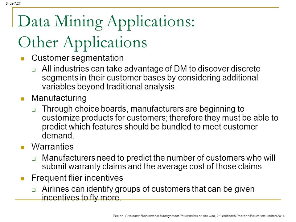 advantages of data mining ppt