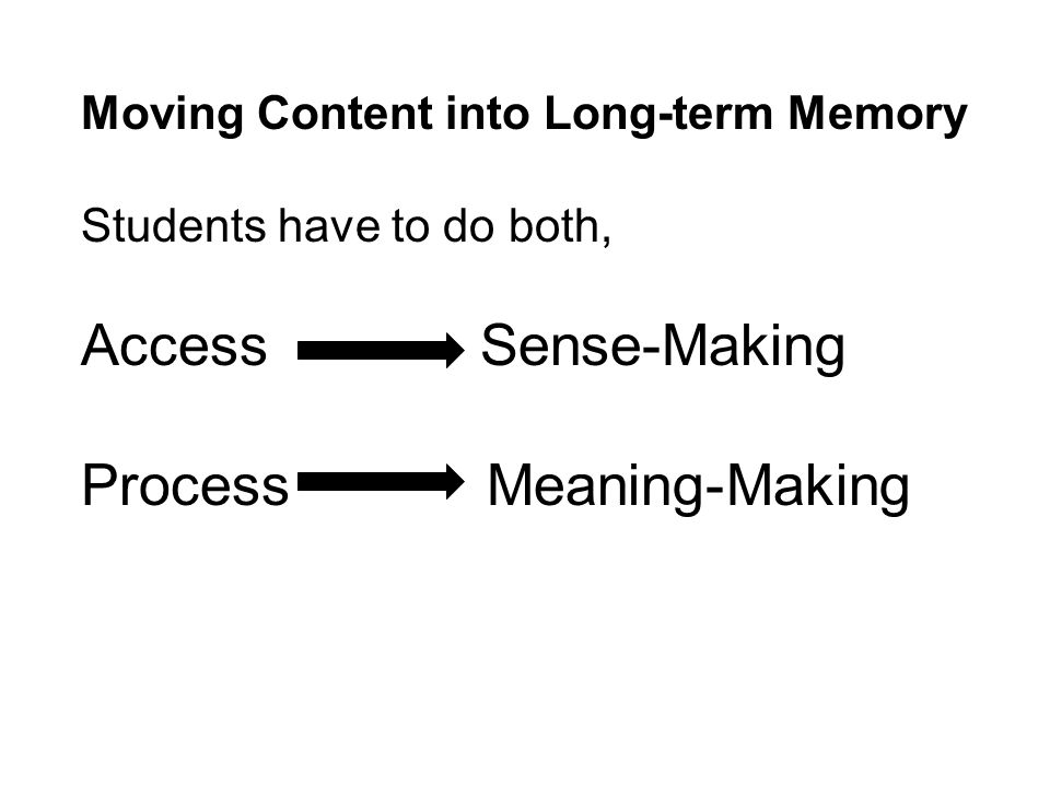 Process Meaning-Making