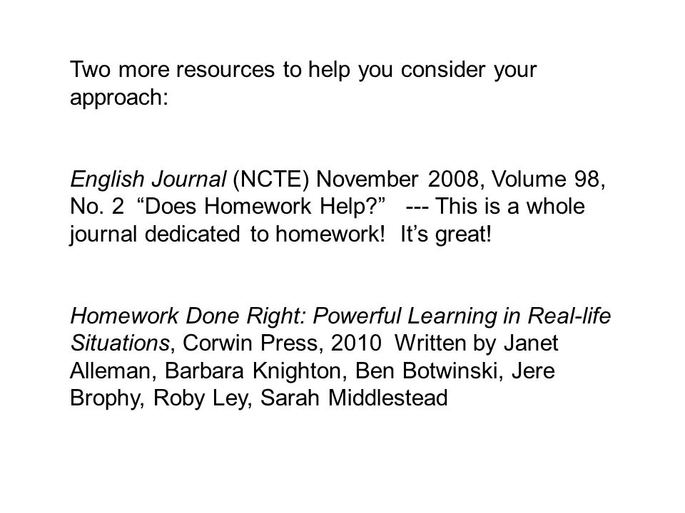 Two more resources to help you consider your approach:
