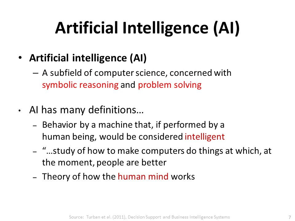 how to study artificial intelligence