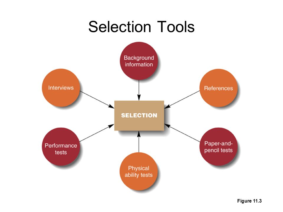 Selection Tools Figure 11.3