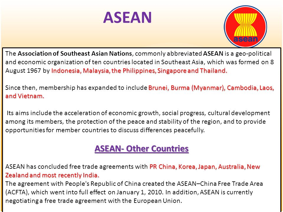 Multilateral Economic Agreements Ppt Download