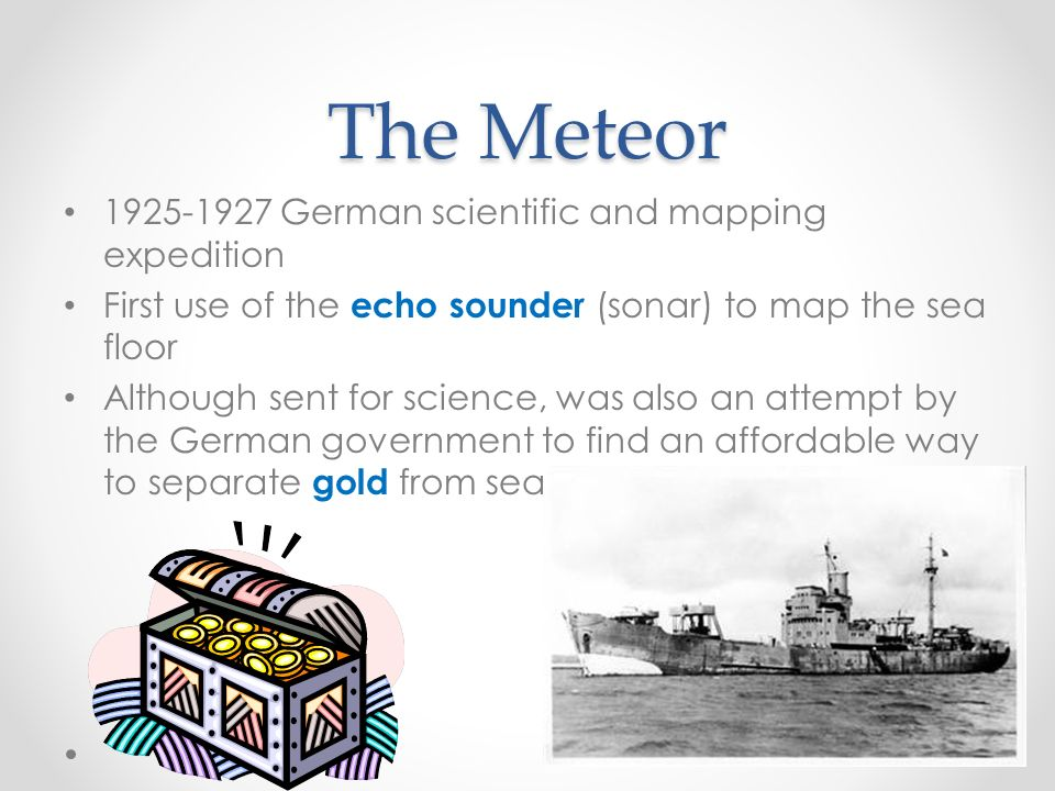 History of Oceanography - ppt download