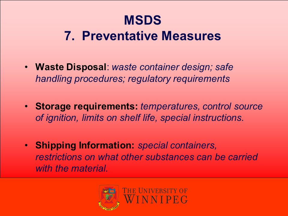 workplace hazardous materials information system w h m i s rh slideplayer com MSDS Training Aids MSDS Cover Sheet