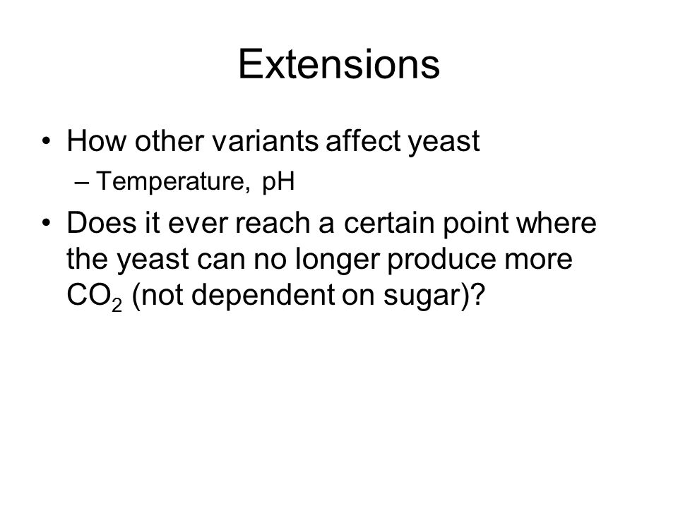 how does temperature affect yeast