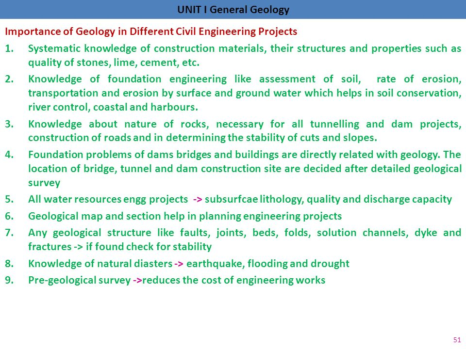 general geology acknowledging drvnagarajan  video