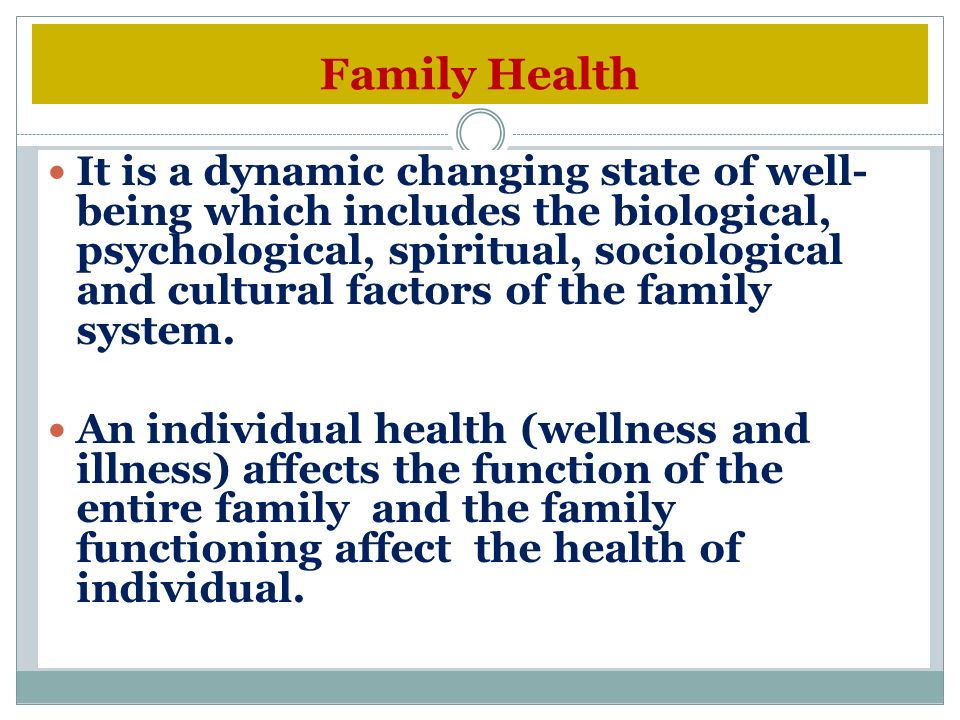 factors affecting the family system