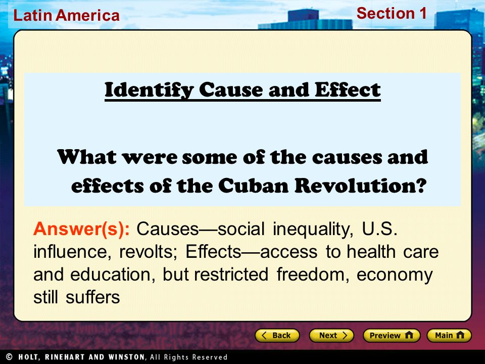 causes of the cuban revolution