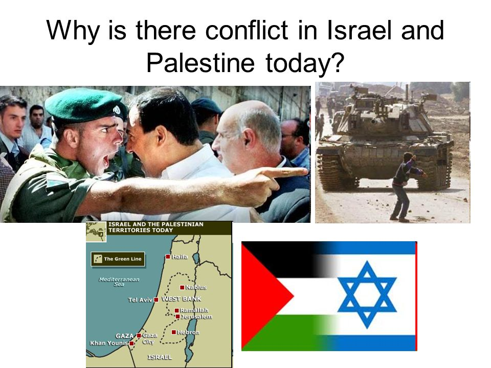 Why is there conflict in Israel and Palestine today