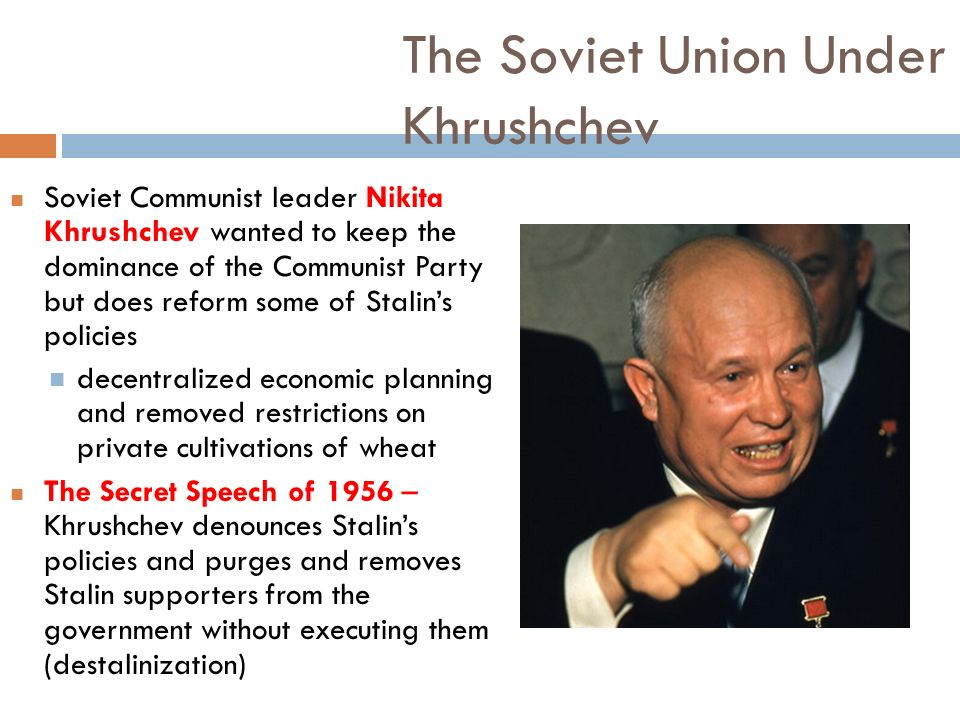 Image result for nikita khrushchev ousted as soviet union leader